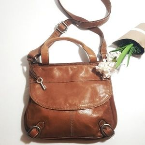 Fossil Leather  Lizette Crossbody Bag